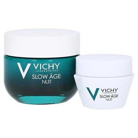 VICHY SLOW Age Nacht Creme + gratis Vichy Slow Age Nacht Creme 15 ml 50 Milliliter