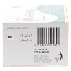 Avitale HaarAktiv PLUS Vegi + gratis Coffein Shampoo 120 Stück - Rückseite