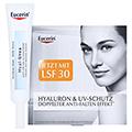 EUCERIN TH Hyal Urea Anti Falten Augencreme + gratis Eucerin Hyaluron Anti-Age Set 15 Milliliter
