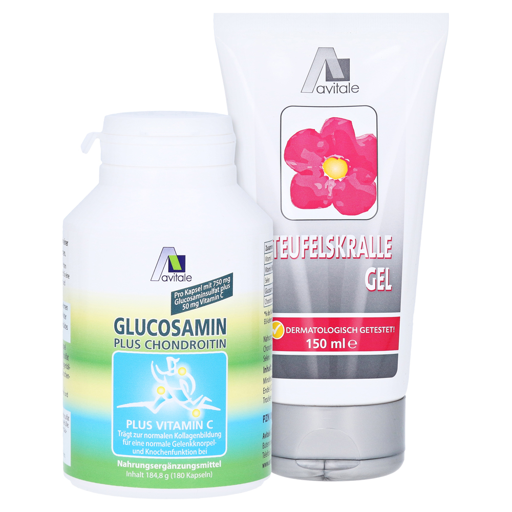 Avitale Glucosamin plus Chondroitin Kapseln, 120 Stück