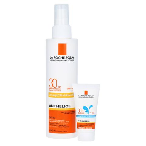 La Roche-Posay Anthelios Sonnenschutz Spray LSF 30 Ultra-leicht + gratis 15 ml La Roche-Posay Anthelios XL 50+ 200 Milliliter