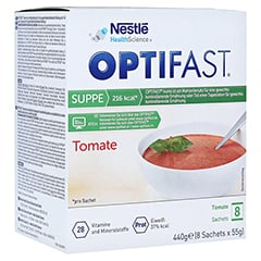 Optifast home Suppe Tomate 8x55 Gramm