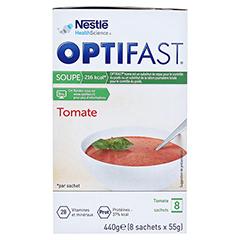 Optifast home Suppe Tomate 8x55 Gramm - Rechte Seite