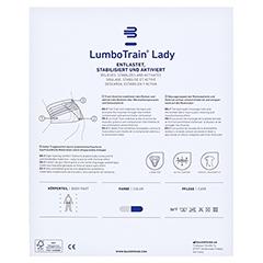 LUMBOTRAIN Lady Gr.4 titan 1 Stück - Rückseite