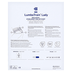 LUMBOTRAIN Lady Gr.2 titan 1 Stück - Rückseite