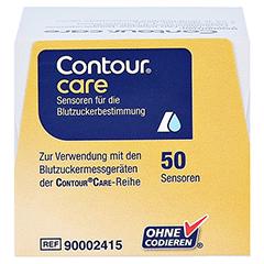 CONTOUR Care Sensoren 50 Stück - Oberseite