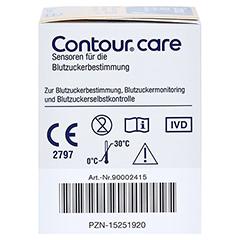 CONTOUR Care Sensoren 50 Stück - Rechte Seite