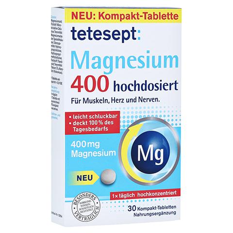 TETESEPT Magnesium 400 hochdosiert Tabletten 30 Stück