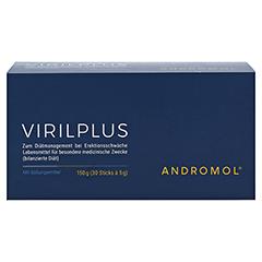 ANDROMOL VIRILPLUS Sticks 30x5 Gramm - Vorderseite