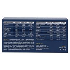 ANDROMOL VIRILPLUS Sticks 30x5 Gramm - Rückseite