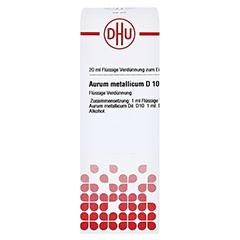 AURUM METALLICUM D 10 Dilution 20 Milliliter N1 - Vorderseite