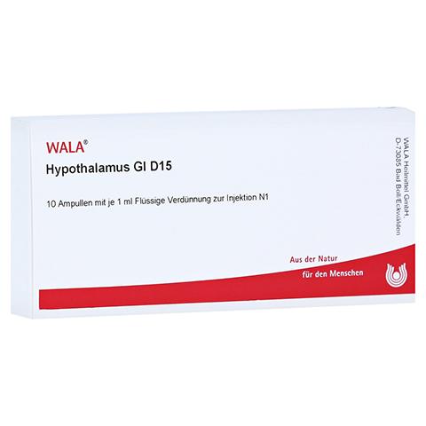 HYPOTHALAMUS GL D 15 Ampullen 10x1 Milliliter N1