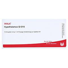 HYPOTHALAMUS GL D 15 Ampullen 10x1 Milliliter N1 - Vorderseite
