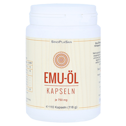 EMU ÖL Kapseln 750 mg naturrein 110 Stück