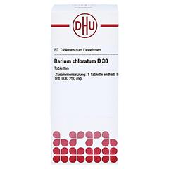 BARIUM CHLORATUM D 30 Tabletten 80 Stück - Vorderseite