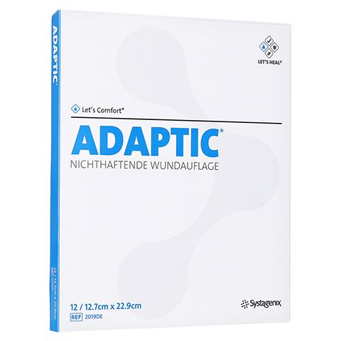 ADAPTIC 12,7x22,9 cm feuchte Wundauflage 12 Stück