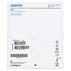ADAPTIC 12,7x22,9 cm feuchte Wundauflage 12 Stück - Rückseite