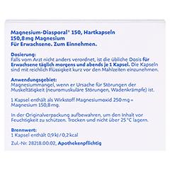 Magnesium-Diasporal 150 100 Stück N3 - Rückseite