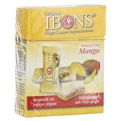 IBONS Mango Ingwerkaubonbons Orig.Schachtel 60 Gramm
