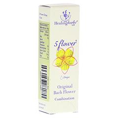 BACH KOMBINATION 5 Flow.Notfalltropf.Healing Herbs 10 Milliliter