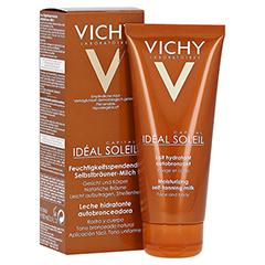 Vichy IDÉAL SOLEIL Feuchtigkeitsspendende Selbstbräuner-Milch für Gesicht und Körper