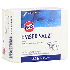 Emser Salz im Beutel 2,95g 20 Stück N1