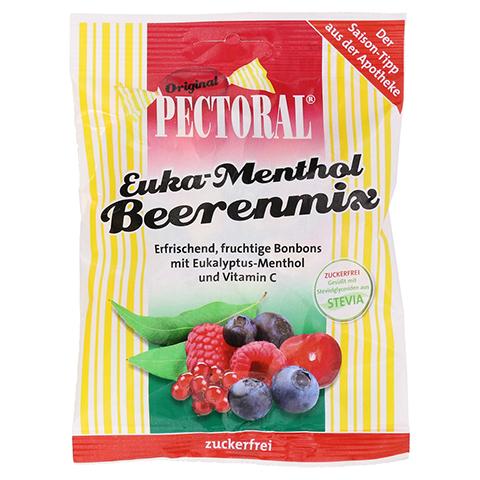 PECTORAL Euka Menthol Beerenmix zuckerfrei 60 Gramm