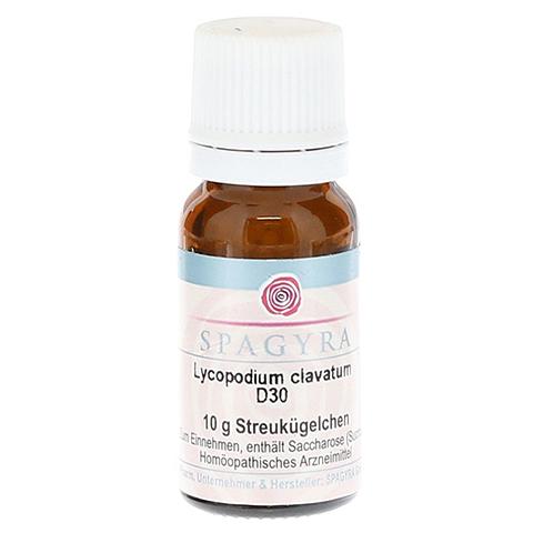 LYCOPODIUM CLAVATUM D 30 Globuli 10 Gramm