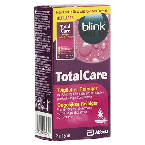 BLINK TotalCare täglicher Reiniger Lösung 2x15 Milliliter
