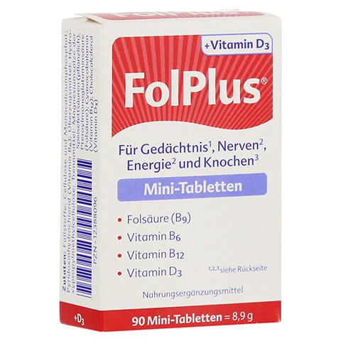 Folplus+d3 Tabletten 90 Stück
