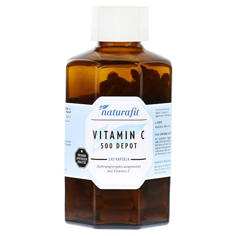 NATURAFIT Vitamin C 500 Depot Kapseln 240 Stück