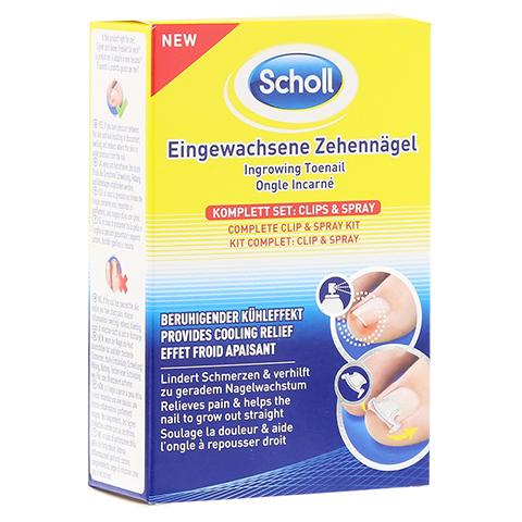 SCHOLL Eingewachsene Zehennägel Clips & Spray 1 Stück