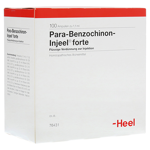 PARA BENZOCHINON Injeel forte Ampullen 100 Stück N3