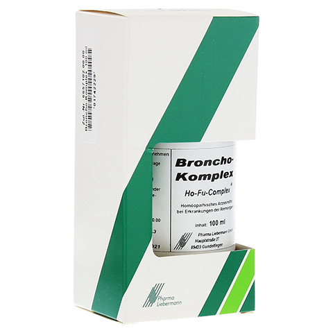 BRONCHO KOMPLEX Ho-Fu-Complex Tropfen 100 Milliliter N2
