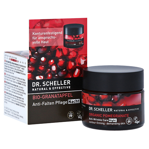 DR.SCHELLER Bio-Granatapfel Anti-Falten Pfl.Nacht 50 Milliliter