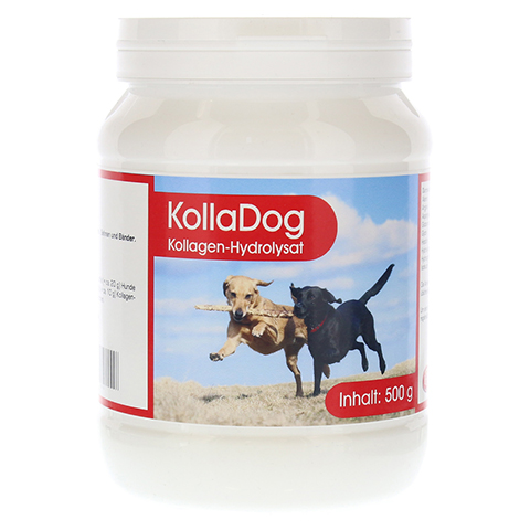 KOLLAGEN HYDROLYSAT Kolladog Pulver vet. 500 Gramm