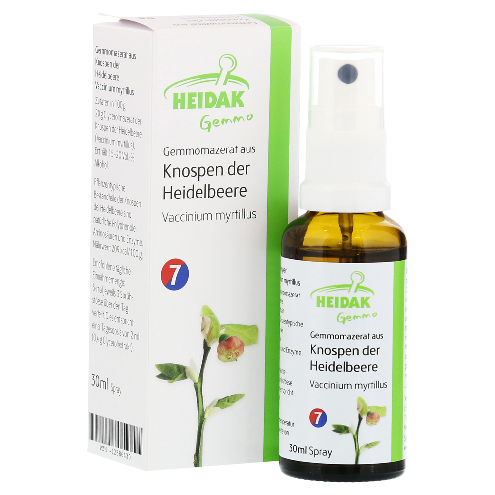 gemmo vaccinium myrtillus gemmomazerat spray 30 milliliter online bestellen medpex versandapotheke. Black Bedroom Furniture Sets. Home Design Ideas
