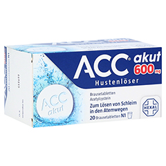 ACC akut 600mg Hustenlöser 20 Stück N1