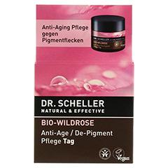 DR.SCHELLER Bio-Wildrose Pflege Tag 50 Milliliter - Vorderseite