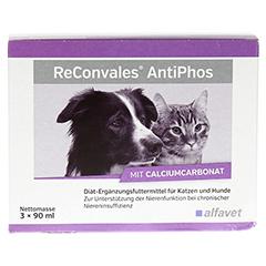 RECONVALES AntiPhos flüssig f.Hunde/Katzen 3x90 Milliliter - Vorderseite