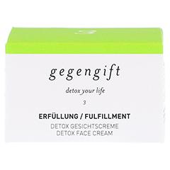 GEGENGIFT Erfüllung Detox gehaltvolle Gesichtscre. 50 Milliliter - Vorderseite