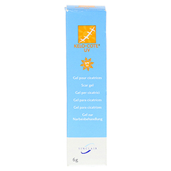 KELO-cote UV Silikon Narbengel LSF 30 6 Gramm - Vorderseite