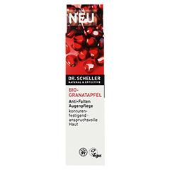 DR.SCHELLER Bio-Granatapfel Anti-Falten Augenpfl. 15 Milliliter - Vorderseite