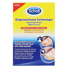 SCHOLL Eingewachsene Zehennägel Clips & Spray 1 Stück - Vorderseite