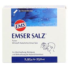 Emser Salz im Beutel 2,95g 20 Stück N1 - Vorderseite