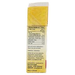 IBONS Mango Ingwerkaubonbons Orig.Schachtel 60 Gramm - Linke Seite