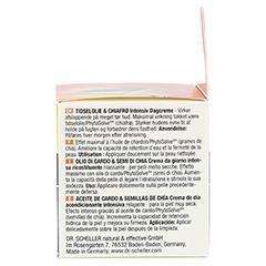 DR.SCHELLER Distelöl&Chiasamen Aufbaucr.Tag s.tr.H 50 Milliliter - Linke Seite