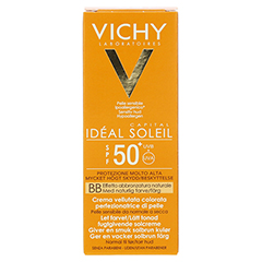 VICHY IDEAL SOLEIL BB Creme LSF 50+ 50 Milliliter - Rückseite