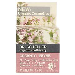 DR.SCHELLER apothecary Bio-Thymian 24 h Pflege 50 Milliliter - Rückseite