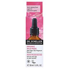 DR.SCHELLER Bio-Wildrose Serum 30 Milliliter - Rückseite